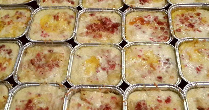 Resep Macaroni panggang favorit. Makanan favoriet keluarga... cocok untuk menu sarapan... juga buat bekal sekolah anak yg suka susu & keju...  Note: bisa buat stock dng bekukan & simpan macaroni panggang yg sdh jadi di freezer & panggang/hangatkan lg saat akan dimakan /dibekal.