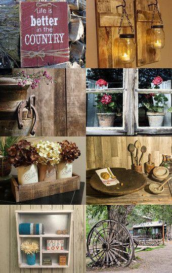 Life is Better in the Country by Alena Rakitskaya on Etsy--Pinned with TreasuryPin.com