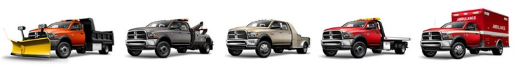 Whether you're needing a truck to tow or haul, the 2012 Ram Trucks 3500, 4500 or 5500 Chassis Cabs at Capital Chrysler Jeep Dodge in EDMONTON are your perfect commercial working trucks.