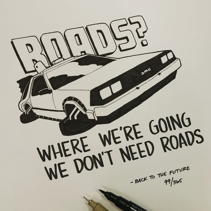 (99/365) We don't have enough road to get up to 88... Back to the future Ian Simmons Drew One Movie Quote Every Day For A Year For the past year, artist Ian Simmons has been drawing one movie quote every single day. The end result is this incredible gallery of 365 famous movie quotes, written out in beautiful typography with accompanying sketches. Simmons has 96 of the most popular pieces for sale on his Etsy store https://www.etsy.com/shop/southocreative,
