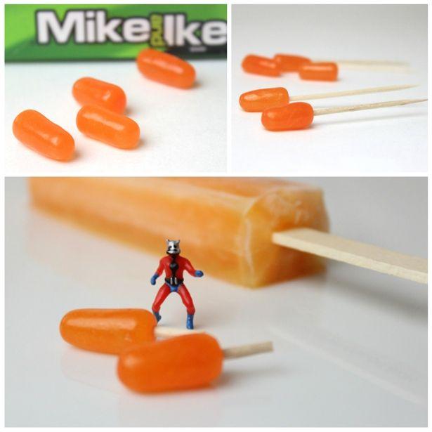 Ant-Man candy popsicles l @nerdist