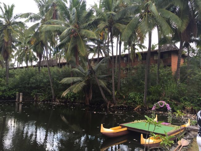 Coco Palms Resort - Kauai' Was hit by Hurricane Iniki 1992-and is the place where many moviestars like Bing and Elvis Presley stayed Elvis filmed Blue Hawaii -  here. It is said to re open in 2017.  (i want to visit and feel the vibe of that era)