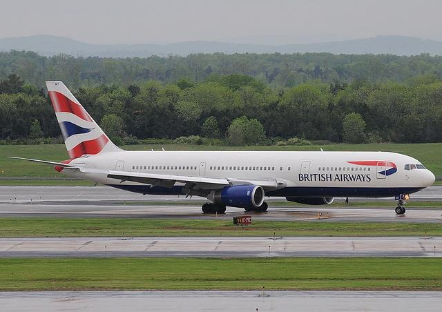 British Airways B767-300 G-BNWT just arrived at IAD, via Flickr.