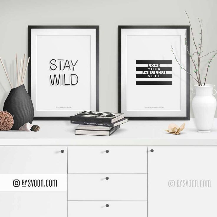 International Women's Day. Women Stay Wild and Love Your Fabulous Self. Prints from my #Etsy Shop. #internationalwomensday