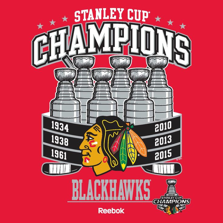 The Chicago Blackhawks are 6x Stanley Cup champions! Not to mention a DYNASTY!