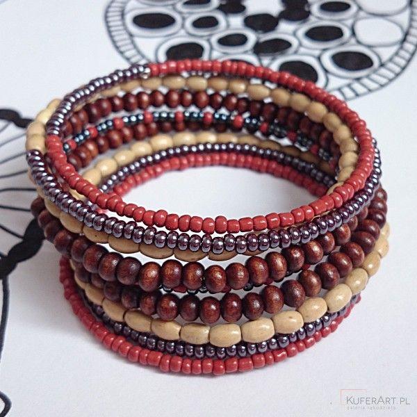 Petit bois - bransoletka - Bransoletki - Biżuteria artystyczna