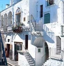 The old town of Cisternino