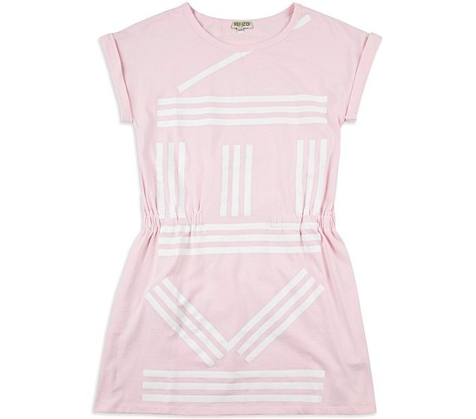 Base Childrenswear Introduces Kenzo for SS17 - Girls Logo Dress