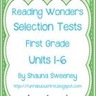 Need to be able to test comprehension of the weekly story for McGraw Hill's Reading Wonders Anthology stories? This bundle is just what you need for all 6 units in the Anthology series!   Included in this packet are Selection Tests for McGraw Hill's Reading Wonders First Grade Unit 1-6 Anthology stories in the Wonders Reading Series.