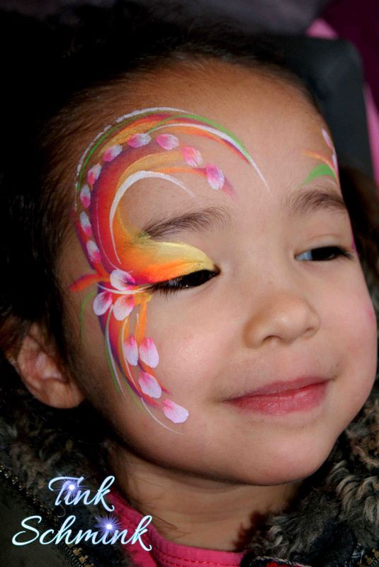 Face painting by Tink Schmink