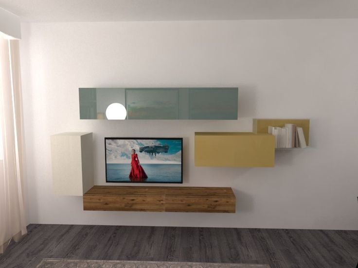 A colorful, light and bright Living composition by LAGO design ready to buy in our Online Shop >> http://www.malfattistore.it/prodotto/composizione-02-2/ | #malfattistore #interiordesign #shoponline #livingroom #lagodesign #homedecor #modernfurniture #storage