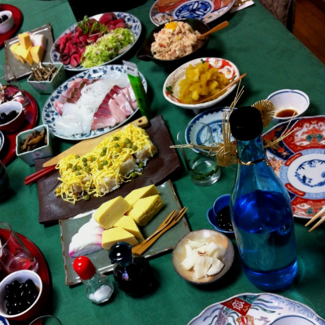 Japanese's new year, first lunch.