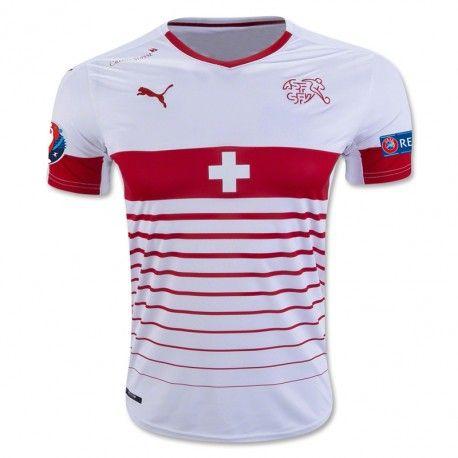 Camiseta del Suiza Away 2016