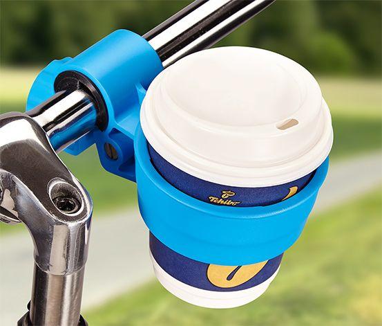 5,99 € Ob an Fahrradlenker oder Kinderwagen: So ist der Kaffee auch unterwegs immer mit dabei. Die Halterung bietet dem Kaffeebecher festen Halt auch bei holprigen Strecken. Sie ist passend für handelsübliche Coffee-to-go-Becher.