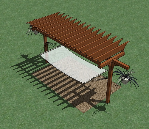 designer will send you his plans for this hammock and arbor 10 best arbor hammock images on pinterest   hammock ideas hammock      rh   pinterest