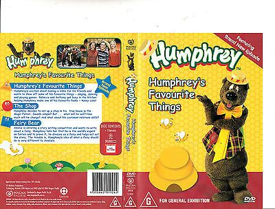Humphrey B Bear-1965/1995-TV Series Australia-3 Episodes-DVD