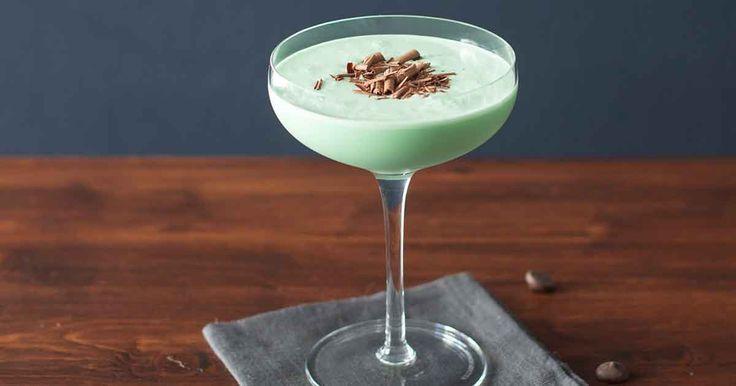 St Patrick's Day Grasshopper Cocktail Recipe