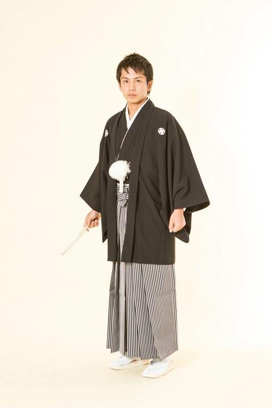 紋付袴 大手他店参考価格10万→38,000円 #japan #wedding #黒 #結婚式 #和装 #紋付袴