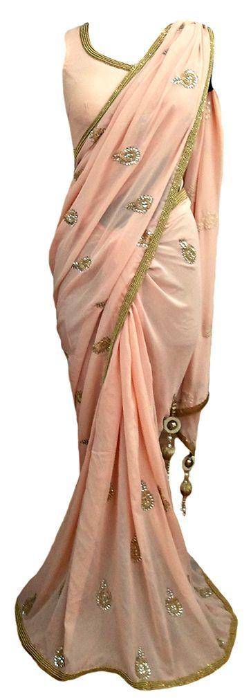 Sona-Moti Classic Vintage Sari — IFE Deepak Shekhar — Traditional Sarees | Indianhanger.com