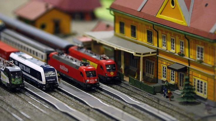 Országos vasúttöténeti és vasútmodell-kiállítás Szolnok