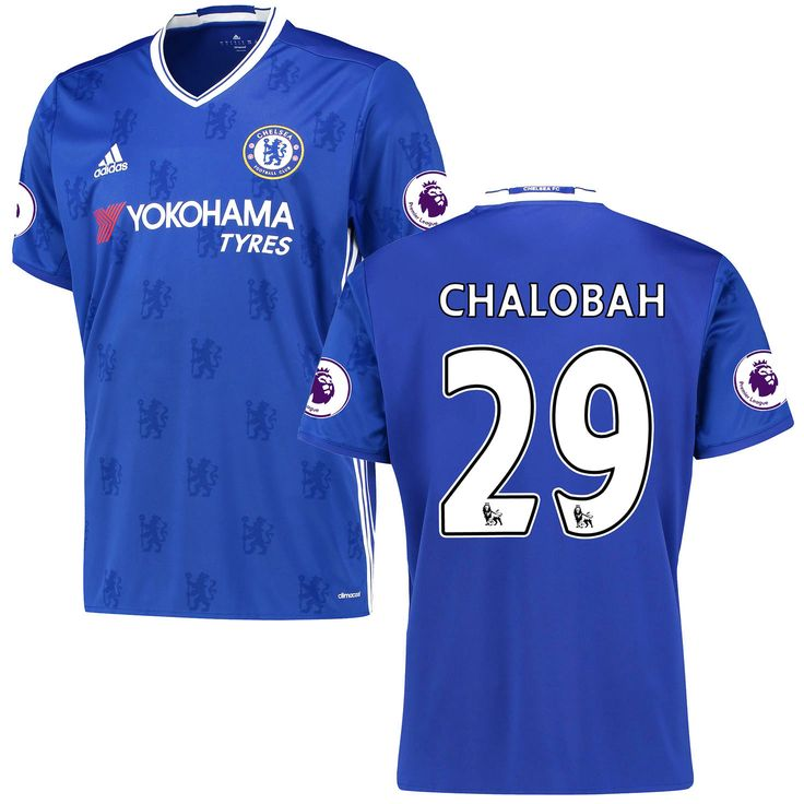 Nathaniel Chalobah Chelsea adidas 2016/17 Home Replica Jersey - Blue - $114.99