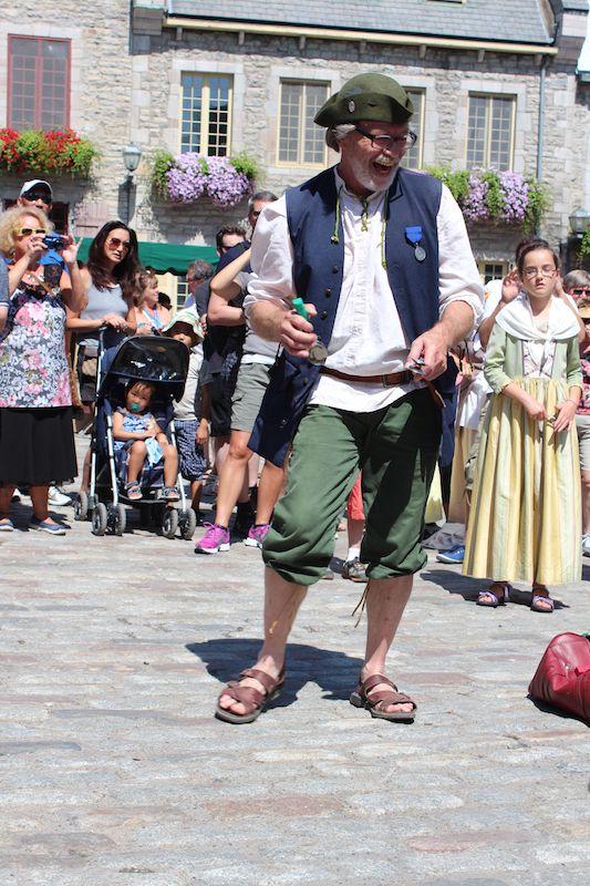 Danse des cuillères, Fêtes de la Nouvelle-France 2014, Québec, QC, Canada
