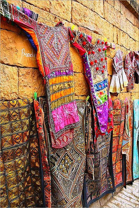 The streets of Jaisalmer, India