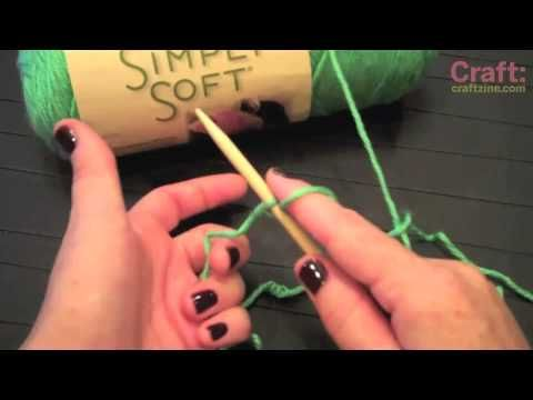 Knitting 101: Single Cast On - YouTube