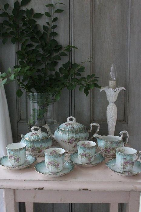 Tea set.❤°(¯`★´¯)Shabby Chic(¯`★´¯)°❤