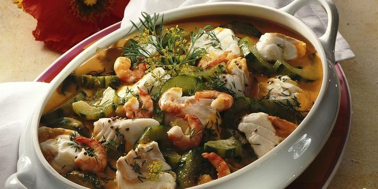 Easy and rich seafood stew