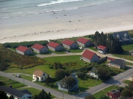 Lockeport 2 br Beach Front Vacation Rental Cottage: Ocean Mist Cottages - Nova Scotia Beachfront Rentals