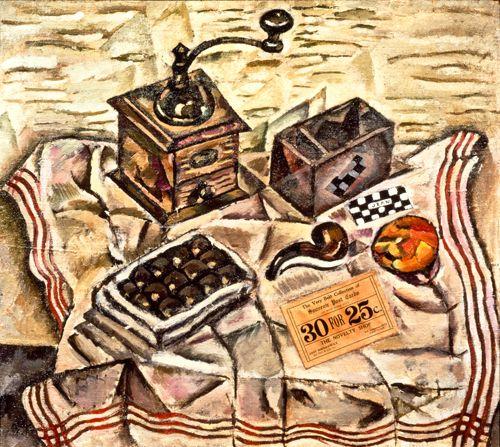 Mirò, Le moulin à cafè, 1918