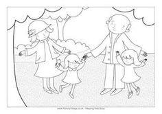 FREE Grandparents Day Printable Coloring Sheets and Awards.
