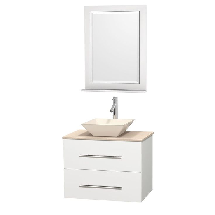 30 inch bathroom vanity top with sink. wyndham collection centra 30-inch single bathroom vanity in white, w/ mirror ( 30 inch top with sink