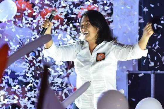 Fujimori consolida liderazgo en sondeos electorales de Perú