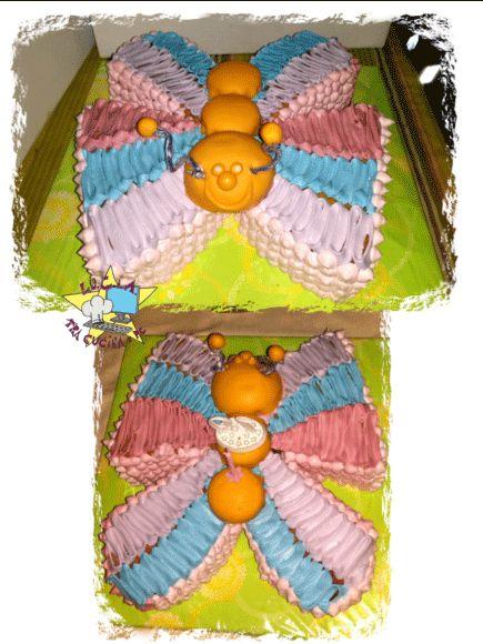 butterfly cake – torta farfalla Lu.C.I.A.-Tra Cucina e PC Beh… qualche giorno fa è stato il 19 esimo compleanno di mia nipote….. e ho pensato di prepararle una tortina veloce da realizzare… ma che di sicuro le sarebbe piaciuta! Per lei che ama le farfalle… (ricorderete quella dello scorso anno che e