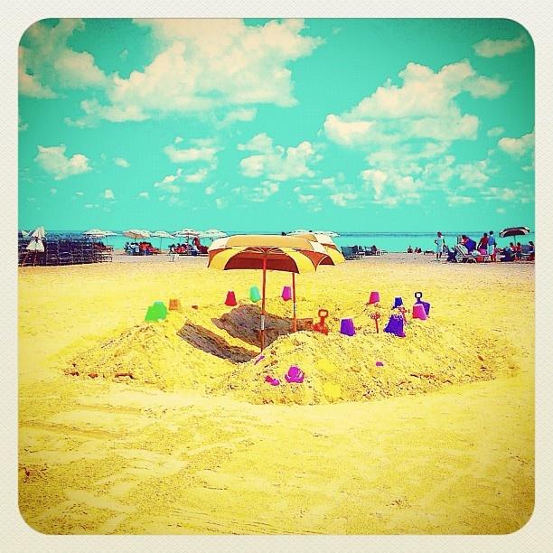MIAMI SOUTH BEACH sand and sun - @balazsroth- #webstagram