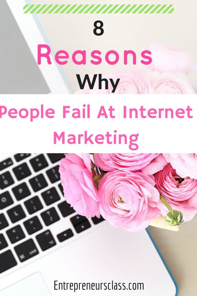 Are you having problem with your internet marketing? Read 8 Reasons Why People Fail At Internet Marketing and possible solutions.