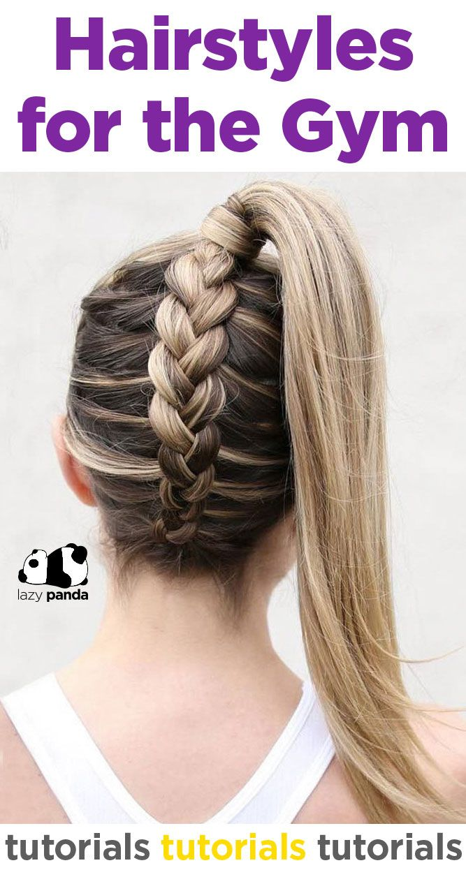 Hairstyles For The Gym Hairstyles Gym Gym Hairstyles Hair Styles Workout Hair Gym Hairstyles