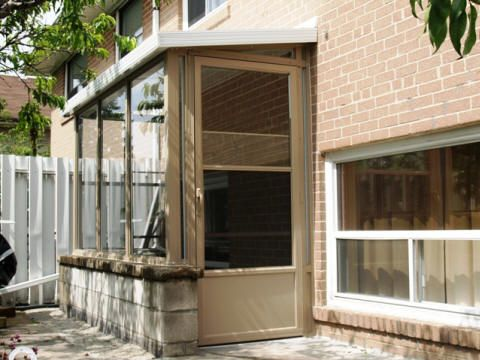 outside covered stairs enclosure - Google Search   For the ...