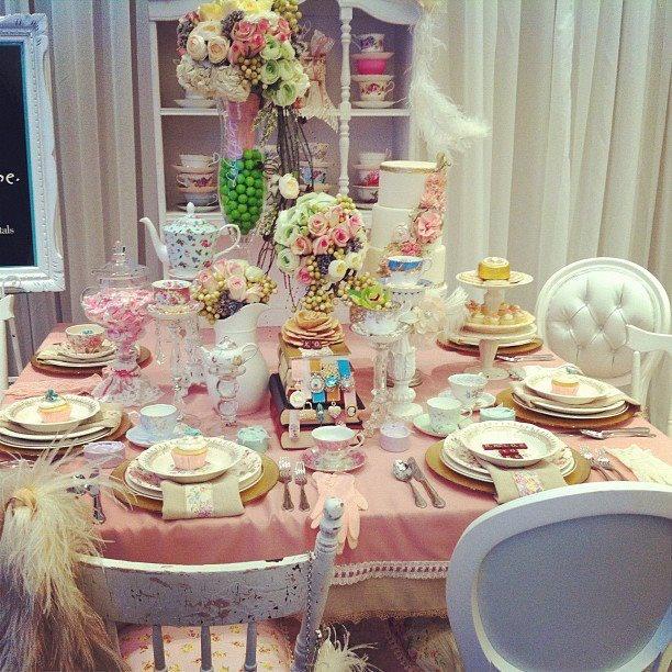 English Tea Party Decorations: 52 Best Tea Tablescape Images On Pinterest