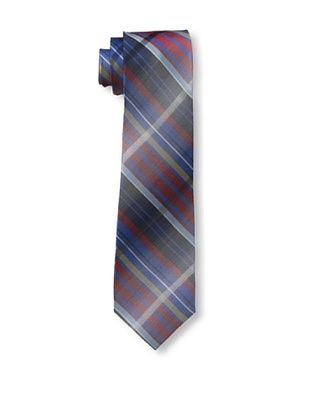 55% OFF Ben Sherman Men's Large Shaded Grid Tie, Red