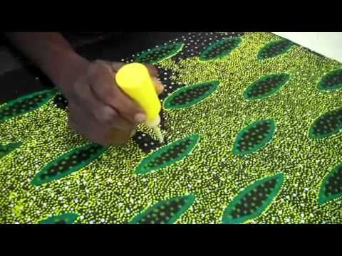 Aboriginal Art by artists Lucky, Lily and Michelle for Mbantua Gallery - YouTube