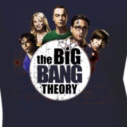 The Big Bang Theory American Most Watched TV Show Worn T shirt