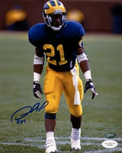 Desmond Howard Autographed 8x10 Photo - JSA #SportsMemorabilia #MichiganWolverines