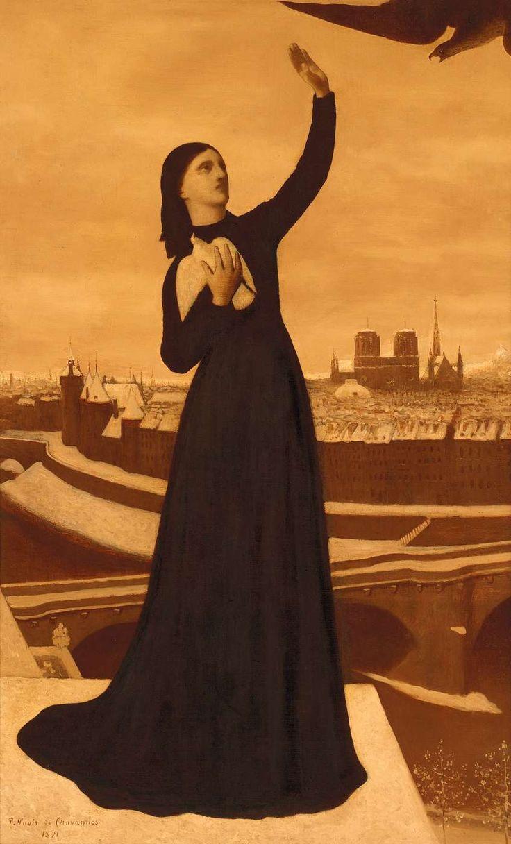 Pierre Puvis de Chavannes : Allégorie de la défense de Paris, 1871