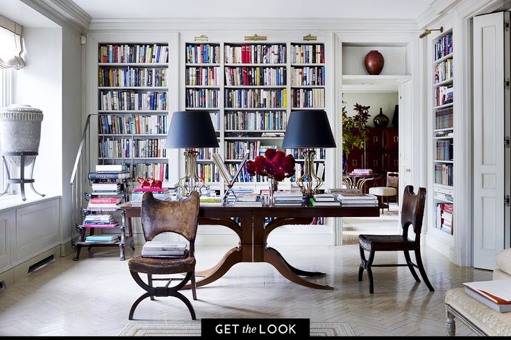 To be surrounded by books is both a luxury and a comfort. These tome-lined spaces are ideal for reading, writing and daydreaming.