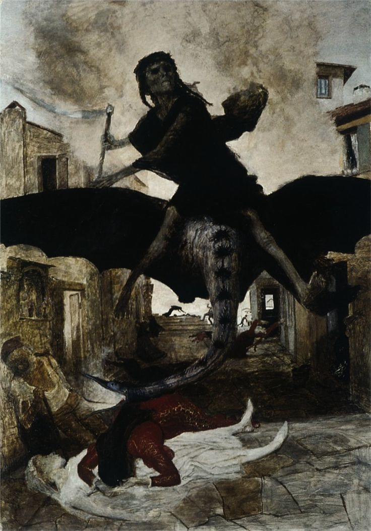 the black plague a harbinger of death in europe Host fatality has been known to be the harbinger of an  the black death past and present 1 plague in  the retreat of plague from central europe,.