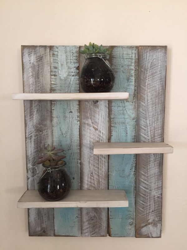 Pallet Shelf Arts Crafts In San Tan Valley Az Offerup Recycled