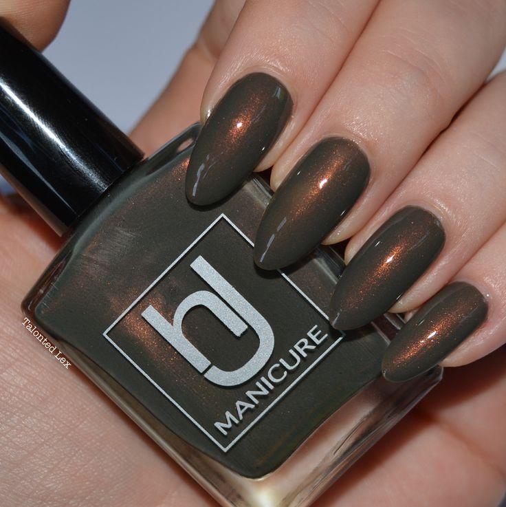 HJ Manicure 'Vintage Bronze' nail varnish review - Talonted Lex
